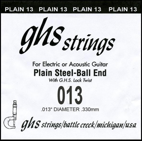 GHS - DY013P 013 plain Ball End