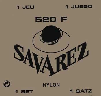 Savarez - 520F Concert rot g3 wound