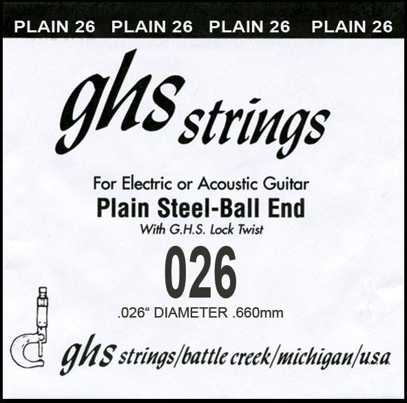 GHS - DY026P 026 plain Ball End