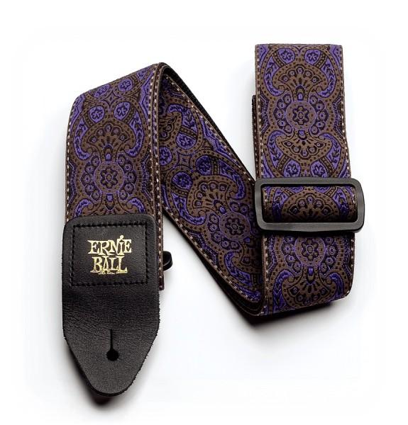Ernie Ball - EB4164 Jacquard purple paisley