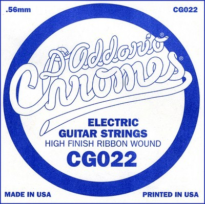 CG022 flatwound ES Chromes