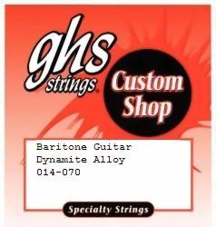 GHS - CU-BARI Baritone Guitar Nickel