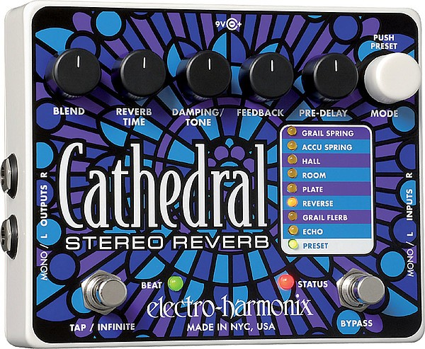 Electro Harmonix - Cathedral Hall Stereo Reverb