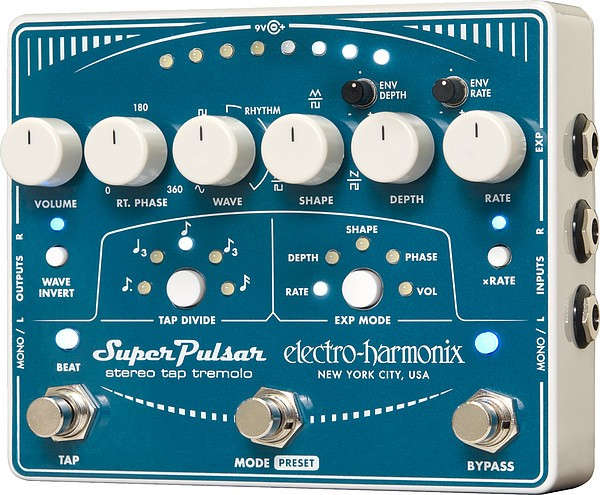 Electro Harmonix - Super Pulsar St. Tap Tremolo