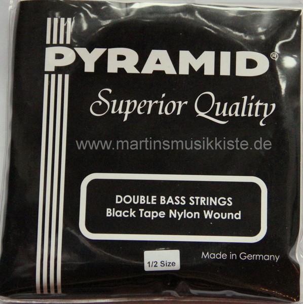 Pyramid - 197100 Black Tape Nylon 1/2