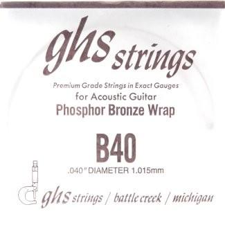 GHS - B40 Phosphor Bronze wound