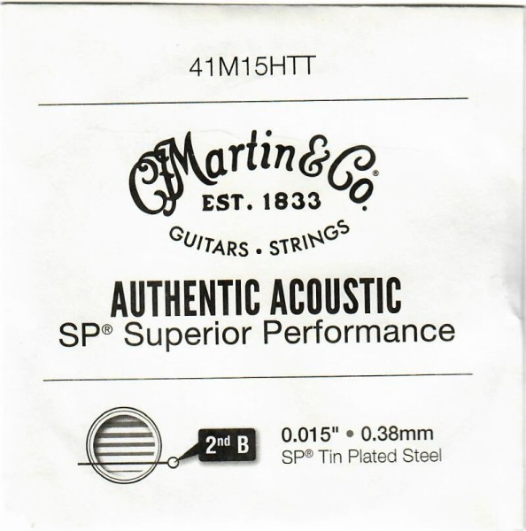 Martin - 41M15HTT 015 tin plated steel