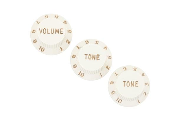 Fender - Knobs Strat Parchment Set
