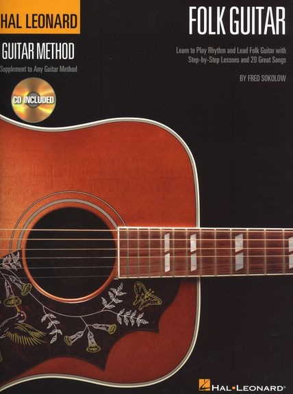 HAL LEONARD - HL00697414 Folk Guitar Method