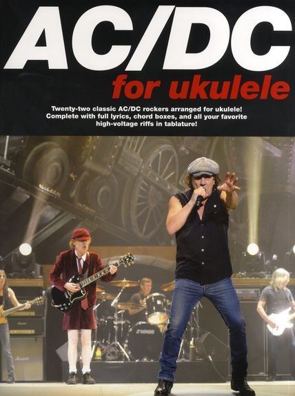 Wise Publications - AM100641 AC/DC Ukulele