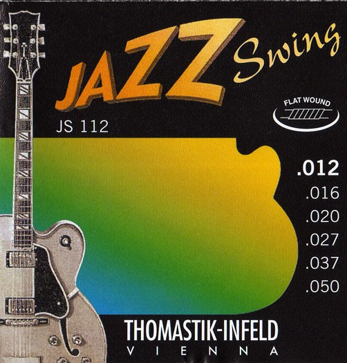 Thomastik - JS112 Jazz Swing Flatwound 012