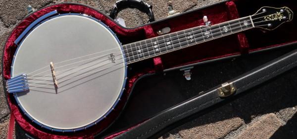 CEB5 Cello 5 Banjo mit Case