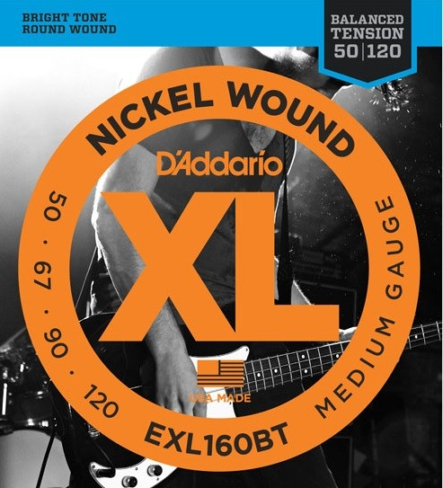 DAddario - EXL160BT Balanced Tension