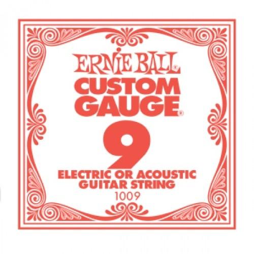 Ernie Ball - EB1009 009 plain Einzelsaite