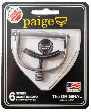 Paige - PAIGEP6N Guitar Nickel Capo 6