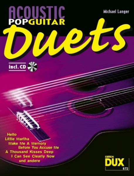 DUX - D872 Acoustic Pop Guitar Duets