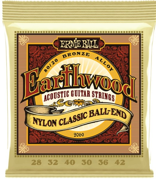 Ernie Ball - EB2069 Bronze Ball End