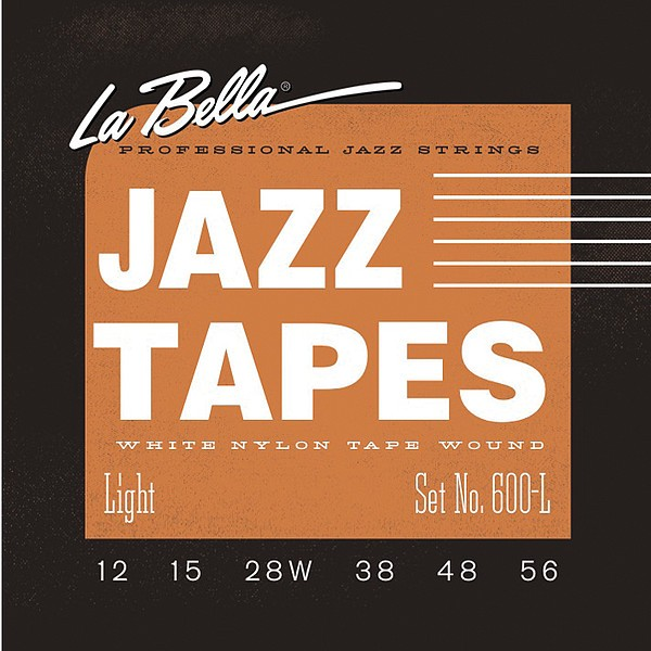 La Bella - 600L Jazz Tapes 12-56