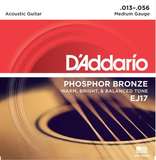 DAddario - EJ17 Phosphorbronze Medium