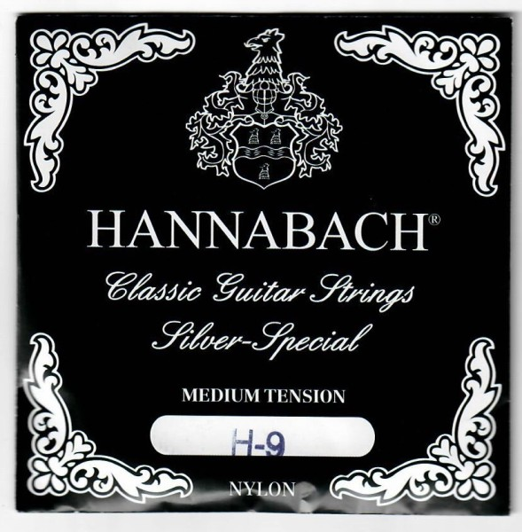 Hannabach - 8159Z H9 MT med Silberspezial