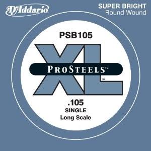 DAddario - PSB105 Pro Steels Einzelsaite