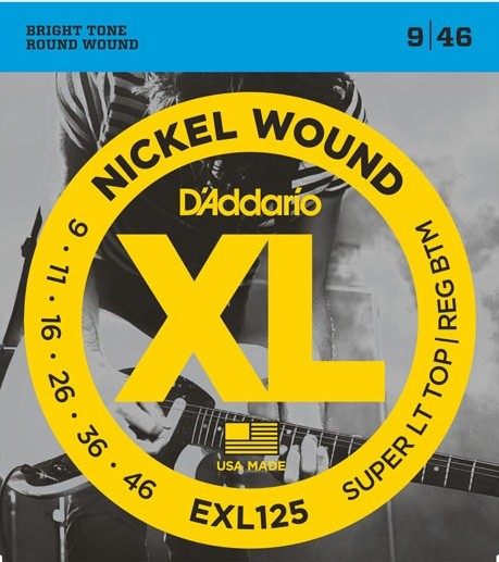 DAddario - EXL125 Nickelwound SLTRB