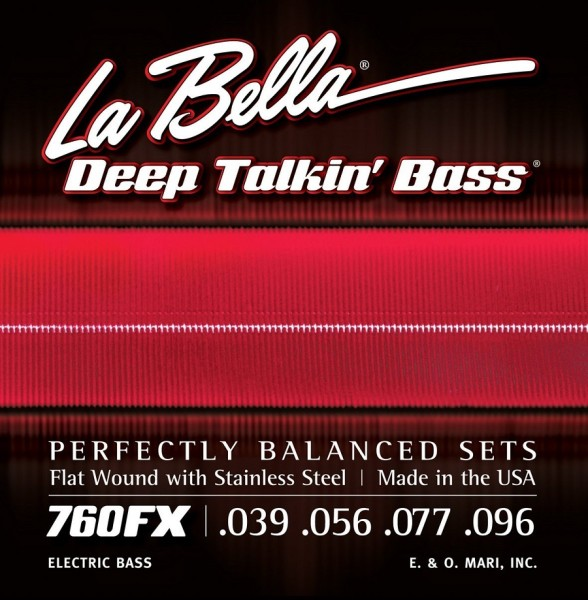 La Bella - 760FX 39-96 Flatwound