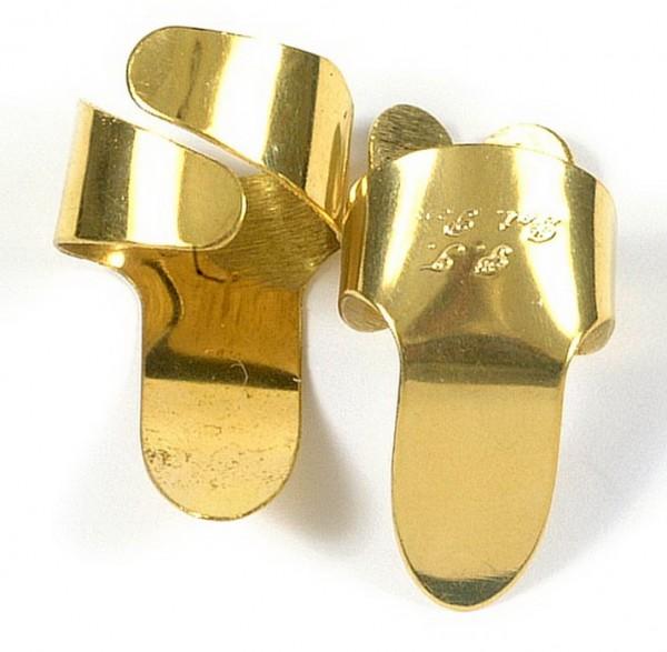 Perfect Touch - Medium Flat Face Brass 2er