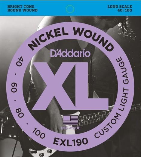 DAddario - EXL190 40-60-80-100