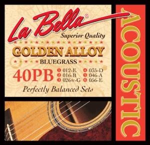 La Bella - 40PB Bluegrass Bronze Golden
