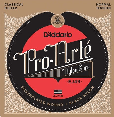 DAddario - EJ49 Pro Arte Black Nylon