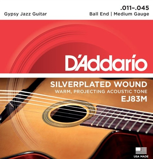 DAddario - EJ83M Gypsy Jazz Medium