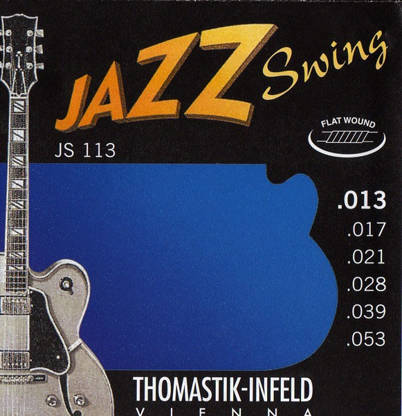 Thomastik - JS113 Jazz Swing Flatwound 013