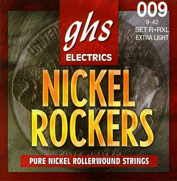 GHS - R+RXL Nickel Rockers X-light