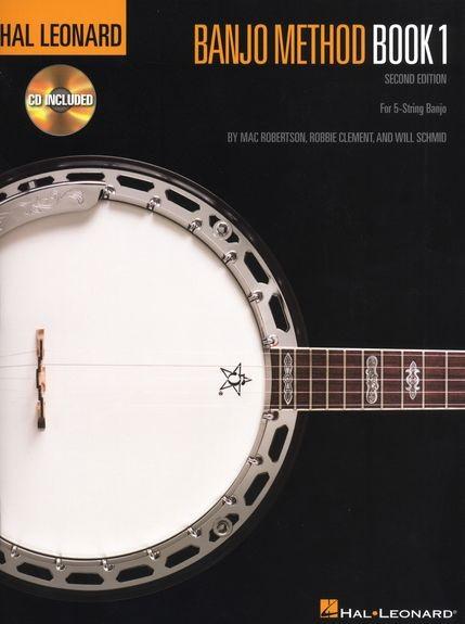 HL00695101 Banjo Method Book 1