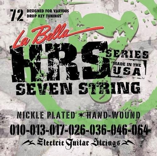 La Bella - HRS-72 7-string 010/046+064