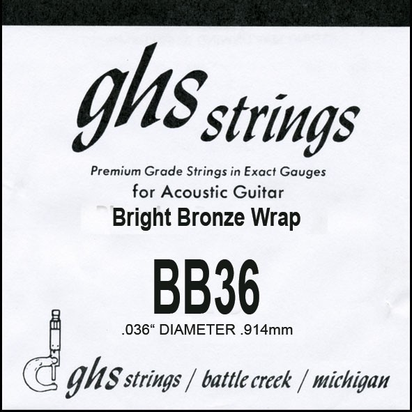 GHS - BB36 Bright Bronze 036 wound