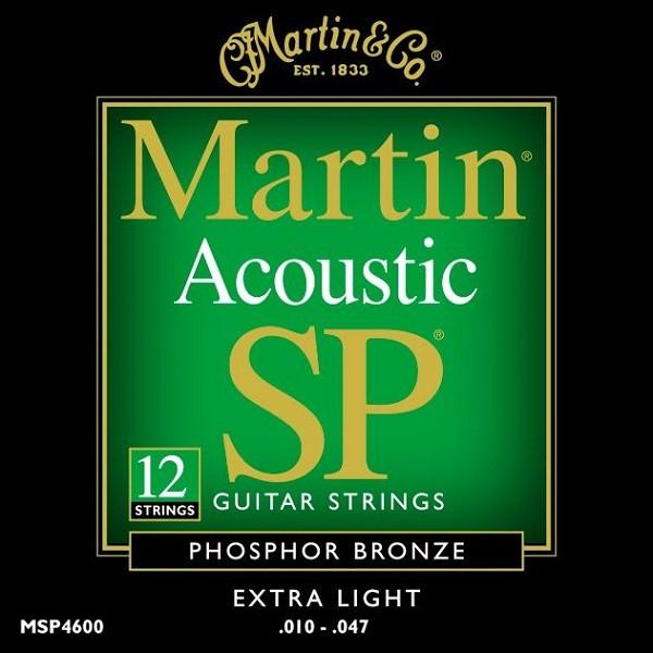Martin - MSP4600 12S XL Phosphor Bronze