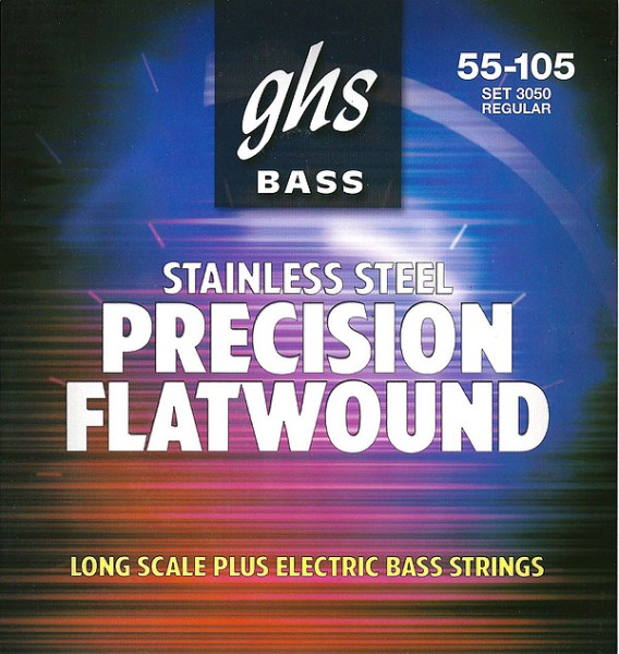GHS - 3050 55-70-90-105 Flatwound