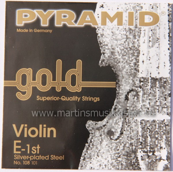 Pyramid - 108100 Violin Gold 4/4