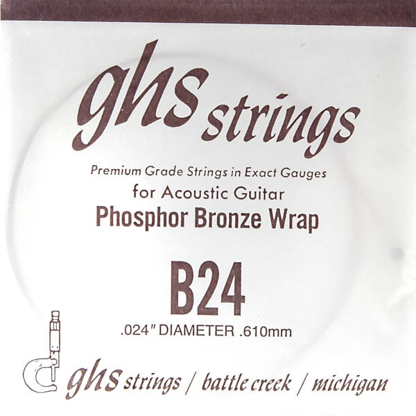 GHS - B24 Phosphor Bronze wound