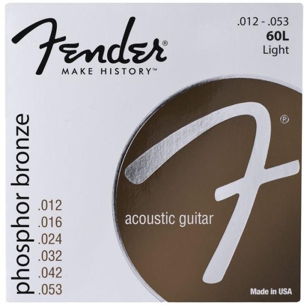 Fender - 60L Phosphor Bronze Light