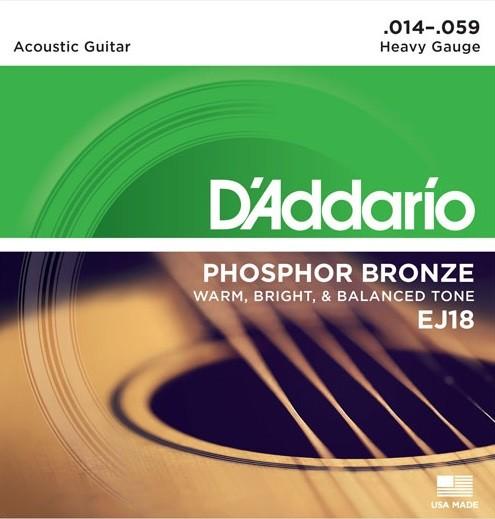 DAddario - EJ18 heavy Phosphor Bronze