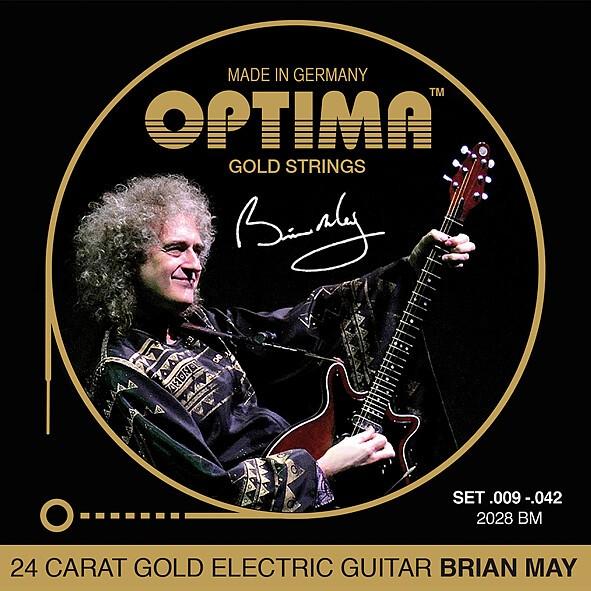 Optima - 2028BM Brian May signature