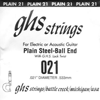 GHS - DY021P 021 plain Ball End