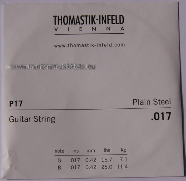 Thomastik - P17 plain steel Thomastik