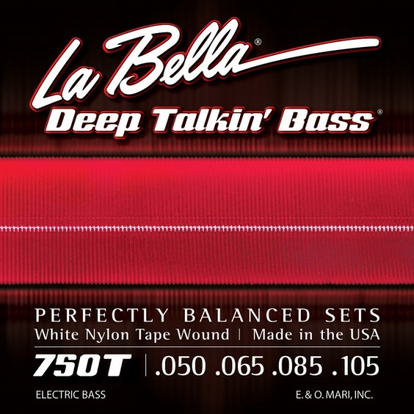 La Bella - 750T White Nylon Tape W 50-105