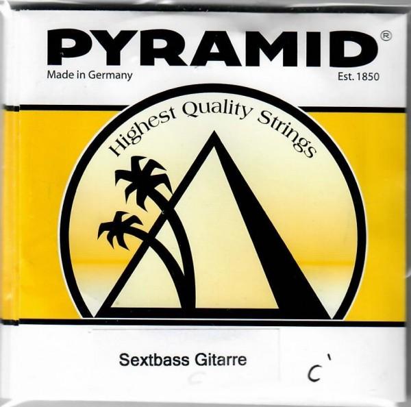Pyramid - 483200 Sextbass Gitarre Nylon