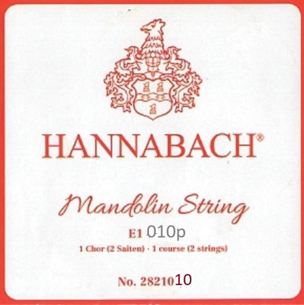 Hannabach - 2821010 E1 chromband 1 Chor