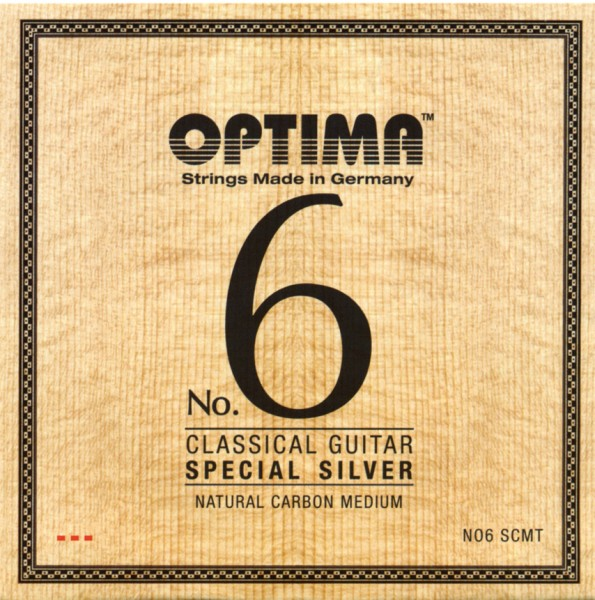 Optima - No.6 SCMT Silver Carbon